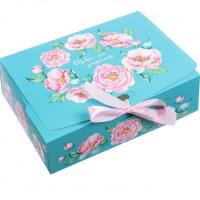 """Коробка подарочная """"тебе на радость""""  16,5*12,5*5 см"""