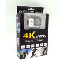 Экшен CAMERA 4K   SPORT  ULTRA HD WIFI можно снимать под водой 30м