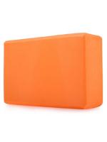 Блок для йоги универсальный, опорный блок кирпич для занятия йогой, стретчингом и фитнесом  23х15х8 см