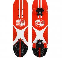 Скейтборд подростковый SPORTS DRIVE LIFE 62х16 см, колёса PVC d=50 мм