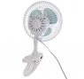 Вентилятор ENERGY EN-0602, настольный, прищепка, 15 Вт, 2 скорости, бело-синий