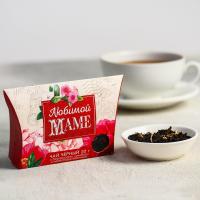 Чай чёрный «Любимой маме», бергамот и лепестки василька, 20 г