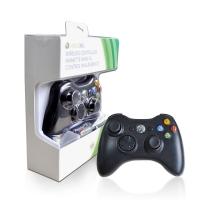 Джойстик X-Box 360  Controller (China) Black Windows  беспроводной