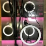 Кольцевая светодиодная лампа LED  LIGHT 26 см