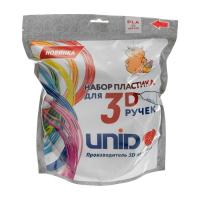 UNID Набор пластика для 3D ручек: ABS-20  (по 10 м. 20 цветов в упаковке)