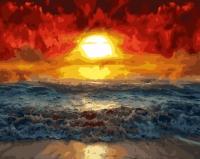 Картина по номерам 40*50 Морская душа 21279