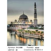 Картина по номерам 40*50 Тюльпанная мечеть 21580