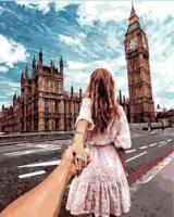 Картина по номерам GX 22063 Следуй за мной. Лондон 40*50