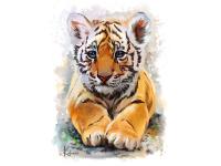 Картина по номерам GX 24302 Бенгальский тигрёнок 40*50