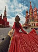 Картина по номерам GX 24447  Следуй за мной. Москва 40х50 см