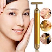 Виброассажер для лица Beauty Bar Golden Derma Energy
