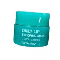 Ночная маска для губ с экстрактом центеллы FARMSTAY