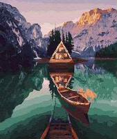 Картина по номерам GX 25916 Шале в диких Альпах 40*50