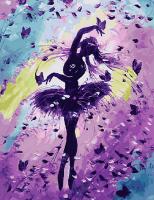 Картина по номерам  GX 27075 Балетная рапсодия 40х50 см