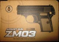 Пистолет металл  ZM03