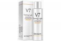 Осветляющая эмульсия для лица с комплексов витаминов V7 Bioaqua