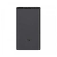 Внешний аккумулятор Xiaomi Mi Power Bank 3 10000 mAh Black (PLM13ZM)