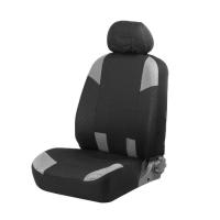 Авточехлы на сиденья TORSO Premium универсальные, 9 предметов, чёрно-серый AV-37