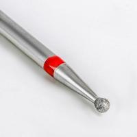 Фреза алмазная для маникюра «Шар», мелкая зернистость, 3,1 мм