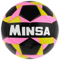 Мяч футбольный MINSA, размер 5, 32 панели, PVC, бутиловая камера, 260 г