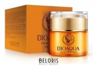 Крем для лица с анти-возрастным эффектом на основе лошадиного масла Bioaqua