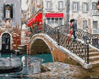 Картина по номера 40*50 Мост влюбленных 21100