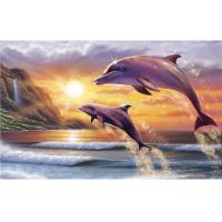 Картина по номерам GX 5143  Прыжок дельфинов 40*50