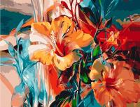 Картина по номерам  GX 5146  Краски Лилии 40*50
