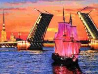 Картина по номерам GX 5317 Разводной мост 40*50