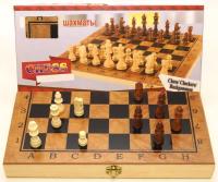 Нарды, шахматы, шашки 3 в 1 40*40 см