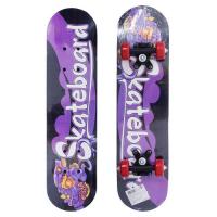 Скейтборд деревянный 59х15 см