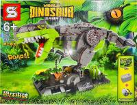 Конструктор World Dinosavr 637 дет