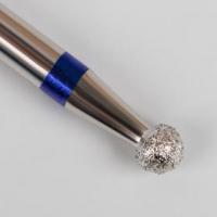 Фреза алмазная для маникюра «Шар», средняя зернистость, 1,2 мм