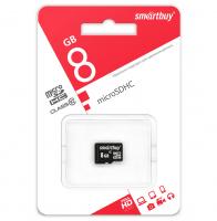 8 Gb SD SmartBuy Class 10