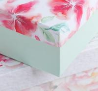 """Подарочная коробка """"Цветы"""" 24 х 15.5 х 9.5 см"""