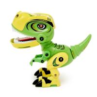 Робот «Минизаврик», реагирует на прикосновение, световые и звуковые эффекты, цвета