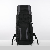 Рюкзак туристический, 90 л, отдел на шнурке, наружный карман, 2 боковые сетки,