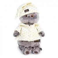 Мягкая игрушка «Басик» в пижаме , 19 см