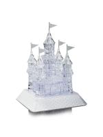 Пазл 3D кристаллический, «Сказочный замок», 105 деталей, световые и звуковые эффекты, работает от батареек
