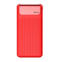 Тонкий, лёгкий Power Bank Baseus с цифровым дисплеем 10000mAh (Красный)