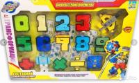 Цифры-Трансформеры набор YB188-38E