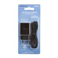 Зарядное устройство BOROFONE BA20A 2.1A USB + кабель Type-C