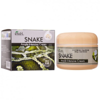 Крем для лица с пептидом змеиного яда EKEL Ample Intensive Cream Snake