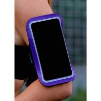 Чехол для телефона на руку LuazON, 14,5*7,5 см, светоотражающая полоса
