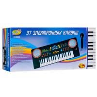 Синтезатор «Весёлые мелодии» с микрофоном, 37 клавиш