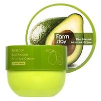 Многофункциональный крем с маслом авокадо для лица и тела FARMSTAY Real Avocado All-In-One Cream