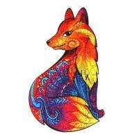 Пазлы фигурные «Роскошная лиса»