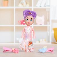 Куколка-сюрприз Surprise doll с заколками, МИКС
