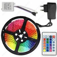 Светодиодная лента RGB 5 метров RGB60-2( +пульт управления, блок питания)