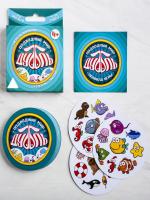 Настольная игра «Дуббль Подводный мир», 20 карт